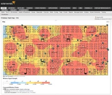 SolarWinds NPM Wireless Heat Maps
