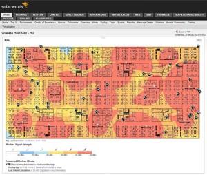 SolarWinds NPM Wireless Heat Maps